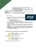Desarrollo de La Conciencia Fonologica Fonemas