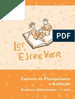 Caderno Planejamento Avaliacao Prof Alfabetizador Primeira Serie
