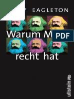Eagleton, Terry - Warum Marx Recht Hat