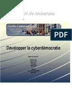E-Gouvernment Quebec etude USherbrooke