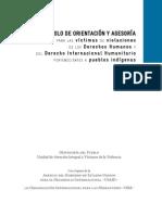 Protocolo de Orientación a Las Victimas de La Violencia 2014