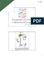 14. Integração e Controle Do Metabolismo