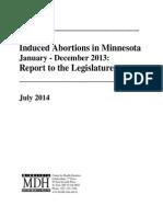 2014 MDH Abortion