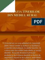Educatia Tinerilor Din Mediul Rural
