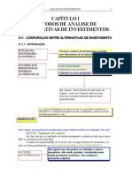 Analise de  Investimento