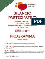 Report Quartiere S. Rocco 26-30 giugno 2014