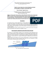 FINITE ELEMENT ANALYSIS OF AN ELECTROMAGNETIC  LINEAR DISPLACEMENT TRANSDUCER   - Felicia GHEORGHE, Virgiliu FIRETEANU