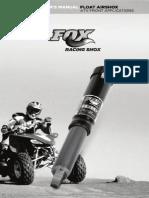 Float AirShox ATV Manual