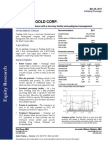 Cantor Fitzgerald - Pershing Gold Corp