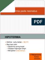 Hipotermia Pada Neonatus