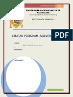 Linear Program Solver (LiPS)
