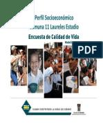 Encuesta Calidad de Vida 2008 - Perfil Comuna 11[1]