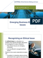Chapter 3 Emerging Business Ethics Issues