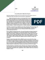 Mock Press Release- Olympia University