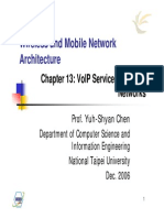 Wireless and Mobile Network Architecture
