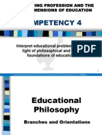 Prof Ed 1 - Social Dimensions of Education - Competencies 4 and 5
