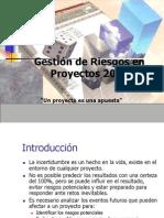 Gestion de Riesgos en Proyectos 2014 (1)