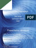 Procurement Presentation