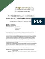 Aguado - Contenidos Digitales y Comunicación Móvil