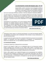 Ficha 4. La Comunicación a Través Del Lenguaje