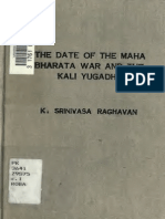 Date of Mahabharat and Kali Yuga