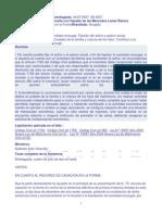 Regímenes Patrimoniales. Divorcio y Liquidación de Sociedad Conyugal.04.07.07.