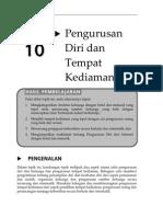 Topik 10 Pengurusan Diri Dan Tempat Kediaman