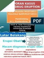 Fixed Drug Eruption (FDE)