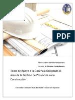 Texto de Apoyo a La Docencia en Gestión de Proyectos