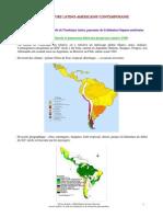 La Littérature Latino-Americaine Contemporaine