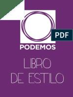 Libro Estilo Podemos