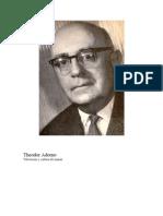 Adorno, Theodor - Televisión y cultura de masas