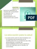La Educación Para La Salud