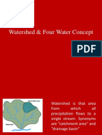 Watershed & Four Water Concept