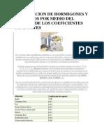 Dosificacion de Hormigones y Morteros Por Medio Del Metodo de Los Coeficientes de Aportes
