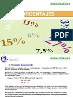 Lectura Porcentaje y Ejemplos
