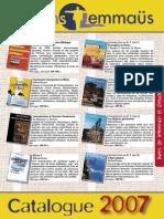 Catalogue Emmaüs 2007