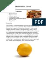 Recetas de Comidas Tipicas de Guatemala