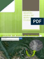 Plan de Desarrollo Urbano Del Distrito de Ocobamba
