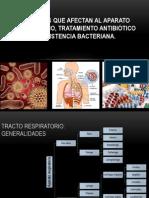 Bacterias Que Afectan Al Aparato Respiratorio Tratamiento Antibiótico y Resistencia Bacteriana. (1)