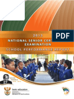NSC 2013 School Performance Report