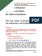 El Secreto Del Junco Aplicado a Las Crisi Seconomica Para Las Empresas y Sus Trabajadores