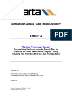 MARTA Clayton Extension Report, Whole penny 10 years