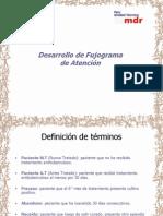 8 Desarrollo de Flujograma de Atencion