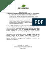 Ministro Urresti debe responder ante la justicia por el asesinato del periodista Bustíos de Caretas