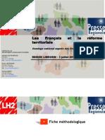 Enquête Réforme Territoriale 2014 - SPQR - Région Limousin