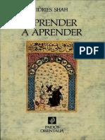 Shah Idries - Aprender a Aprender