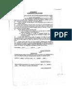 Annexurei Affidavit by the Student