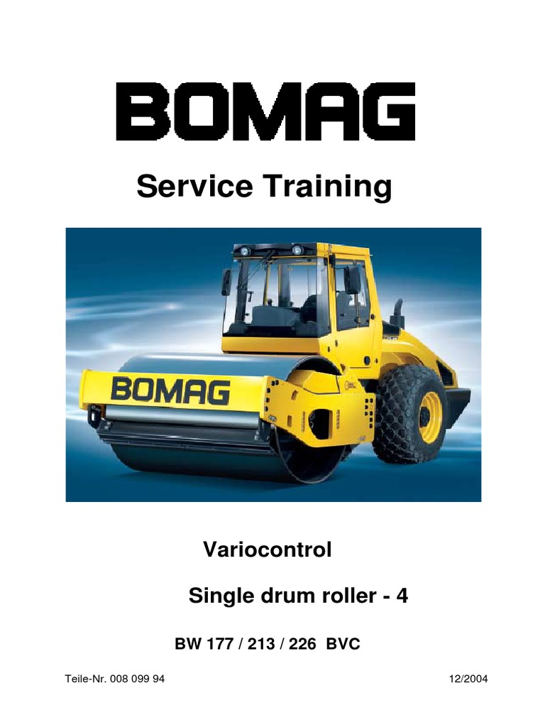 Bomag Bw 161 Wiring Diagram Schematic Diagrams Bw177 213 226 Series 4 Service Training Transmission Mechanics