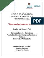 II Ciclo de Seminarios del Centro de Genómica y Bioinformática -  UMayor